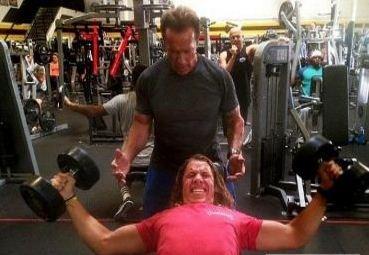 Arnold Schwarzenegger Is The Trainer Of Joseph ..