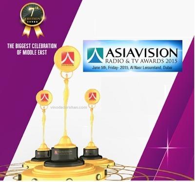 Asiavision Radio And Television Awards 2015