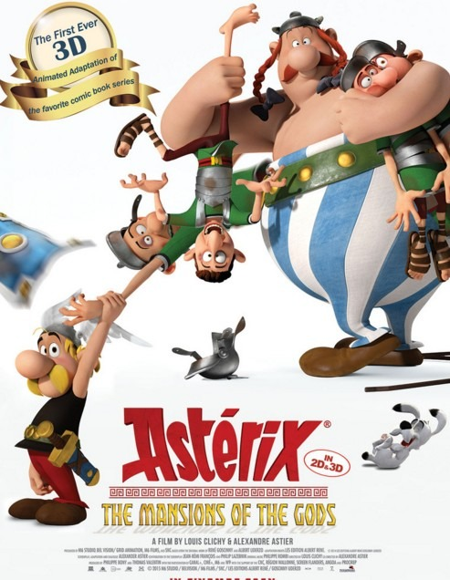 Asterix: The Mansion Of The Gods Review English Movie Review
