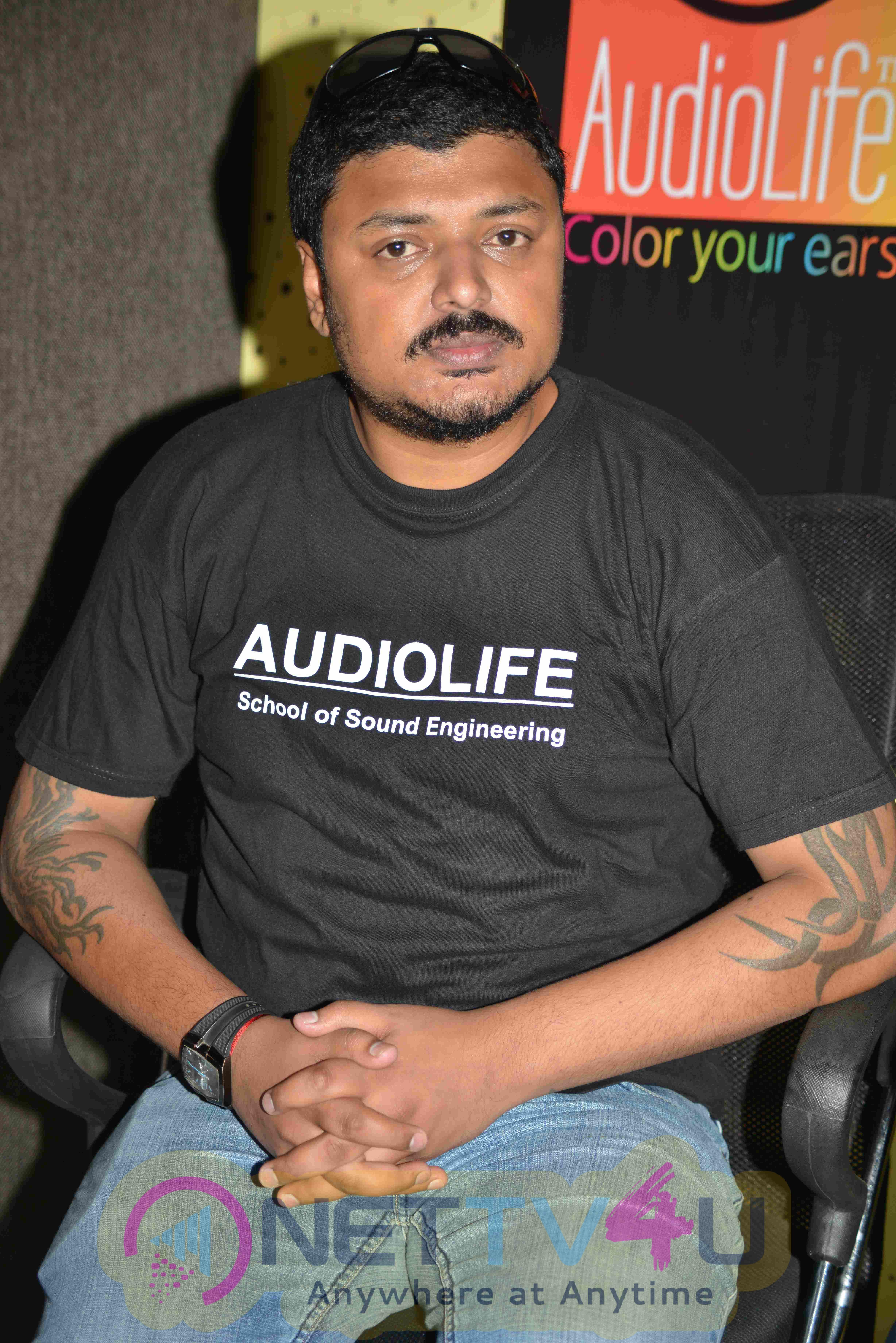 Audio Life  Sound and Audio Training Institute Pressmeet Stills