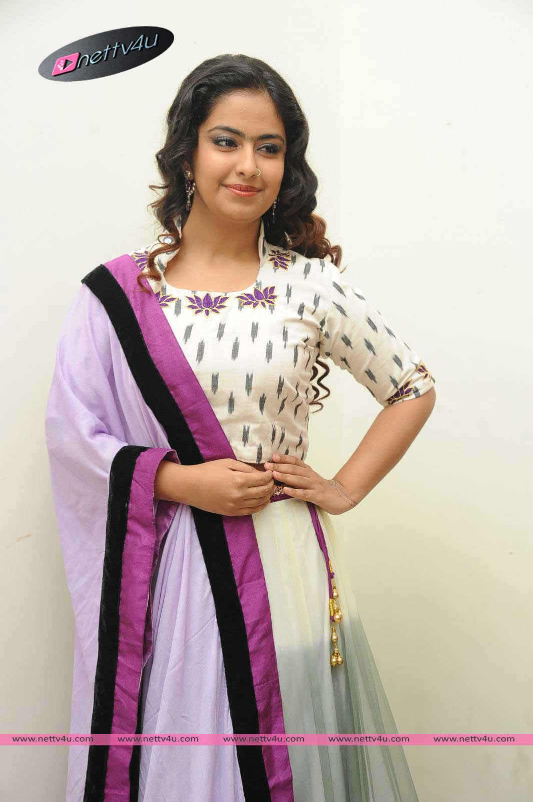 Avika Gor At Telugu Movie Cinema Chupistha Mava Audio Launch Photos