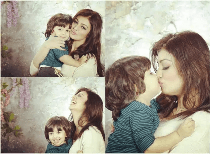 Ayesha Takia Spotted With Family