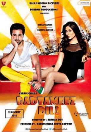 Badtameez Dil Movie Review Hindi Movie Review