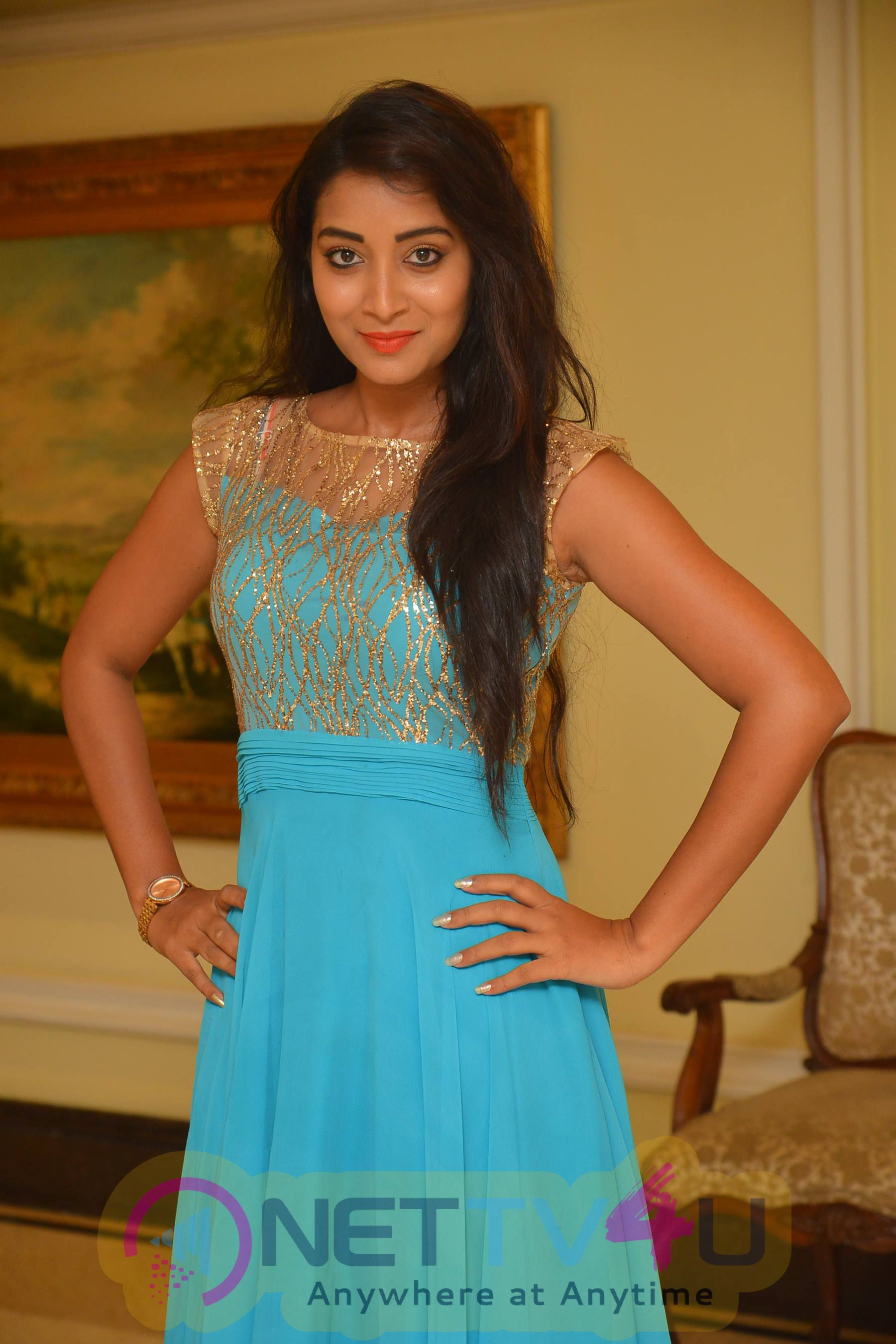Bhanu Sri Statuesque Stills At Apartment Movie Audio Launch Function