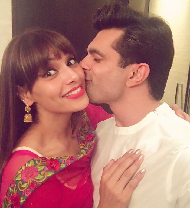 Bipasha Basu And Karan Celebrated Karwa Chauth!