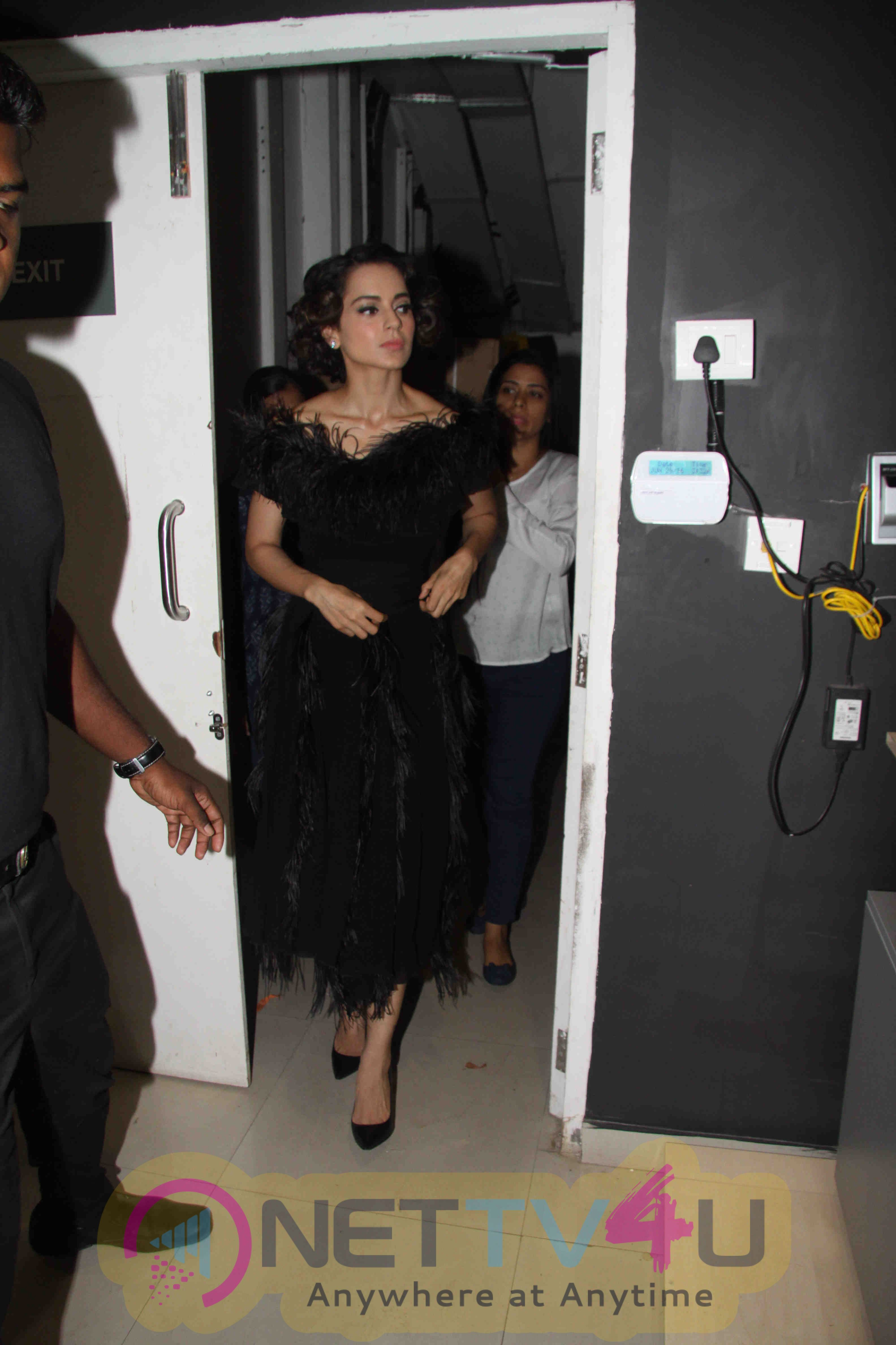 Bollywood Actress Kangna Ranaut Launches Grazia Magazine 100th Issue Images
