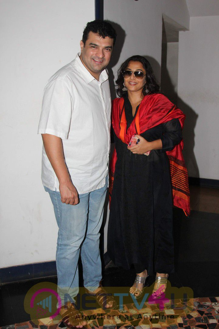Bollywood Actress Vidya Balan And Her Husband Siddharth Roy Kapur Watch Rajinikanth's Kabali Movie Photos