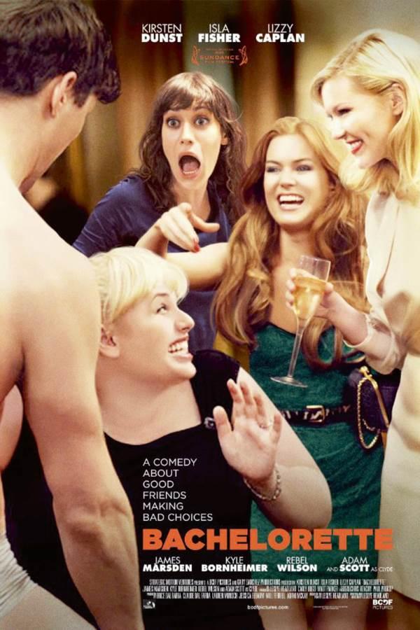 Bachelorette Movie Review English
