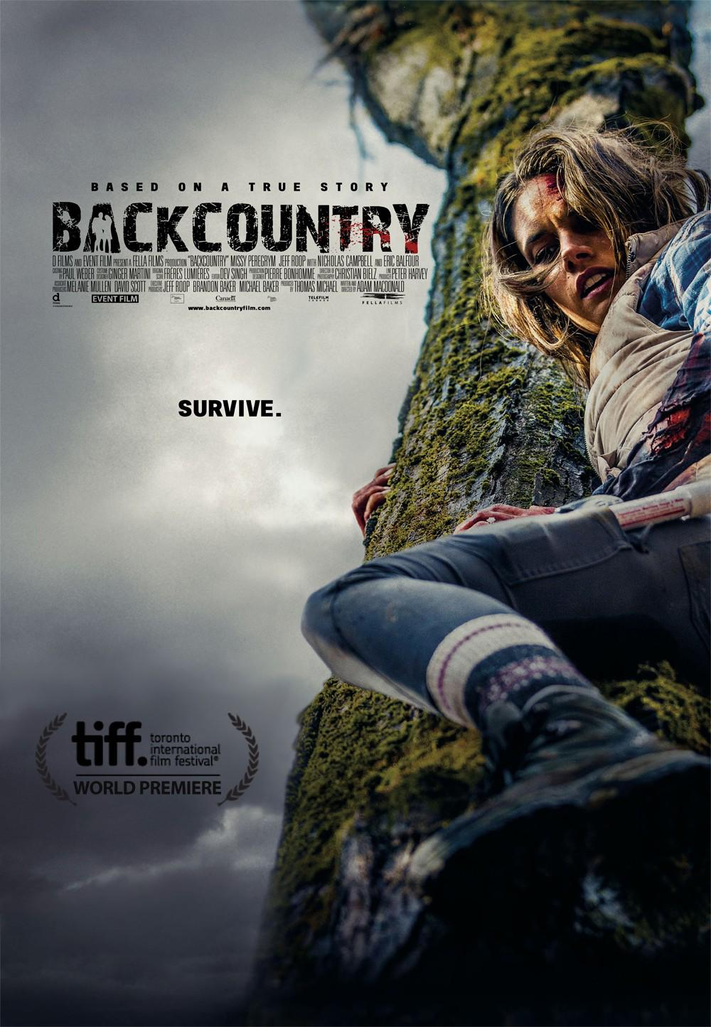 Backcountry Movie Review English