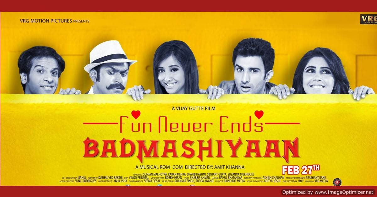 Badmashiyaan Movie Review Hindi
