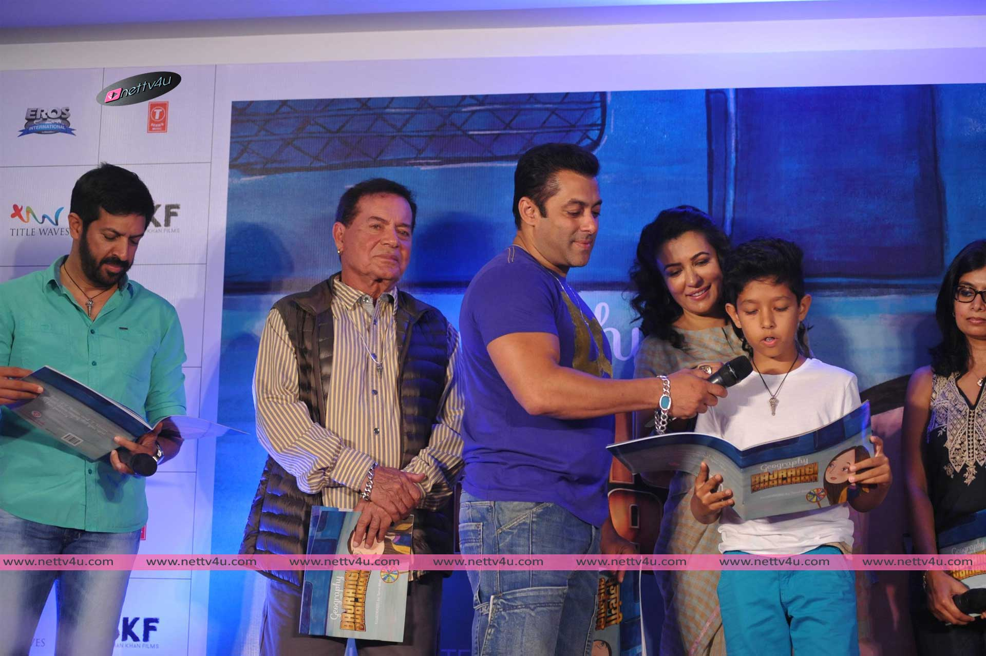 Bajrangi Bhaijaan Book Launch By Salman Khan & Salim Khan