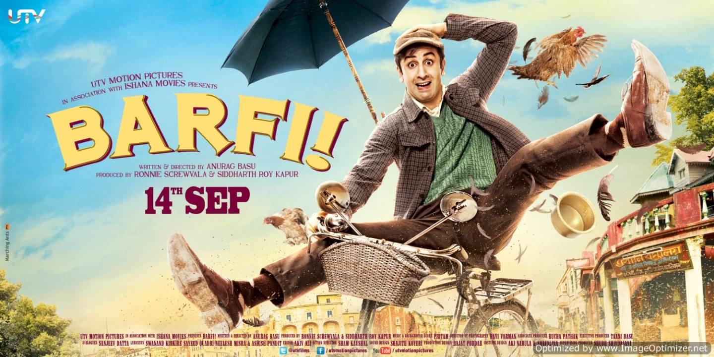 Barfi! Movie Review Hindi