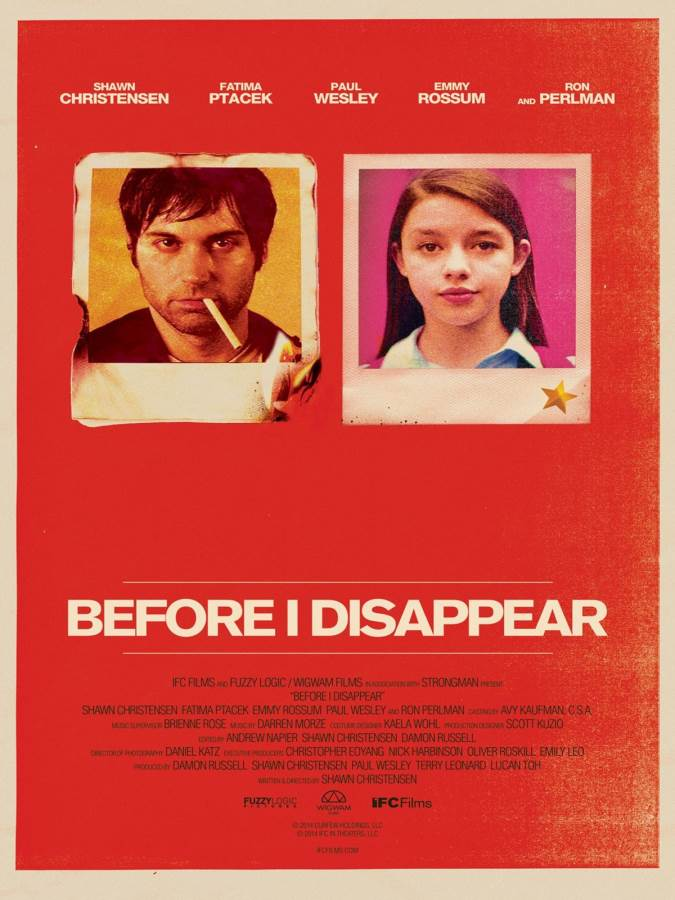 Before I Disappear Movie Review English