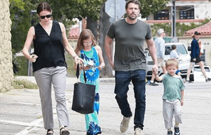Ben Affleck And Jennifer Garner's Family Time In Paris