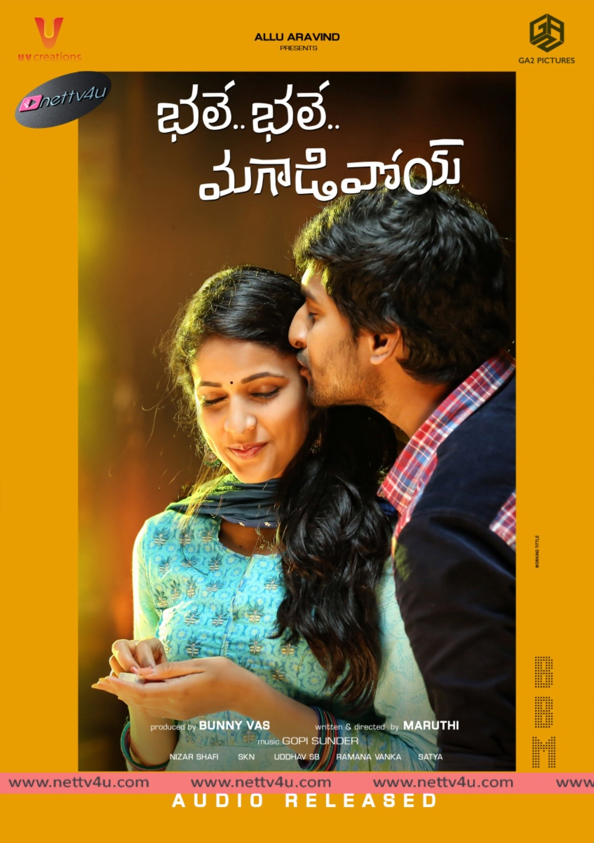 Bhale Bhale Magadivoy Audio Launch Event And Posters