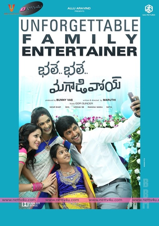 Bhale Bhale Magadivoy Movie Launch Poster
