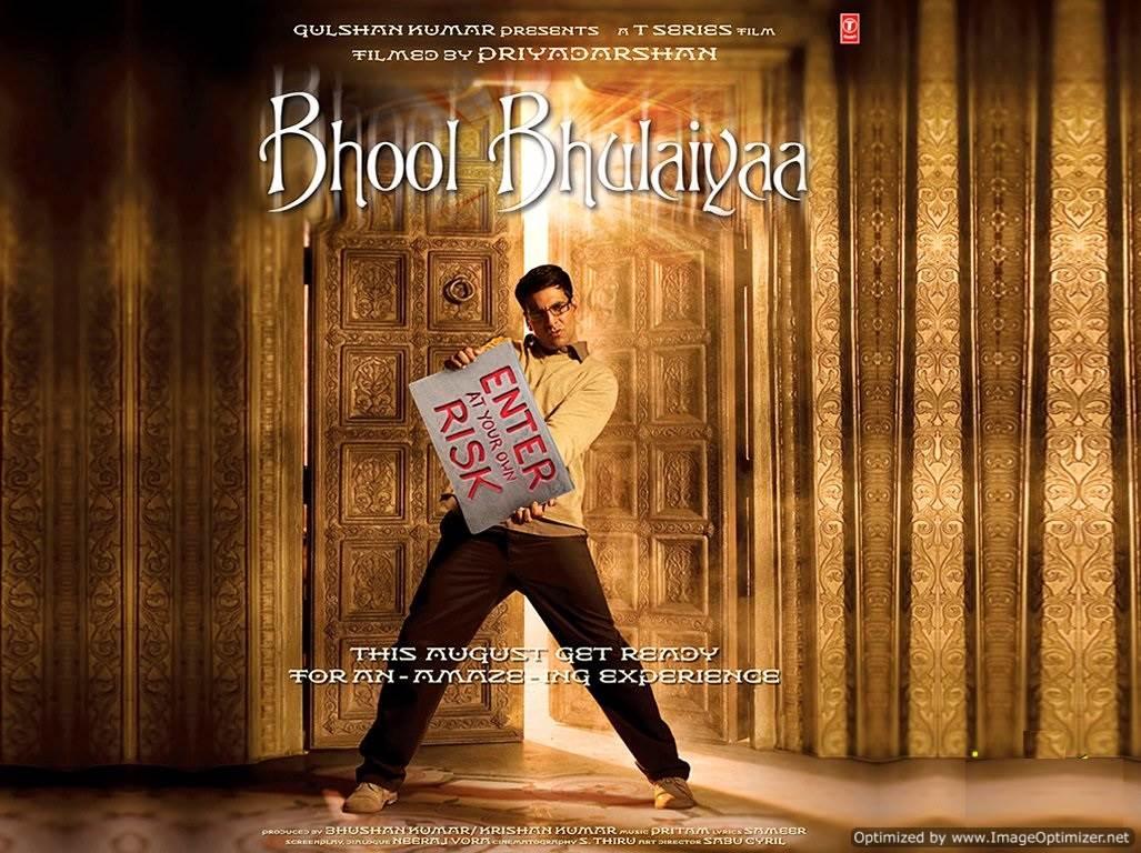 Bhool Bhulaiyaa  Movie Review Hindi