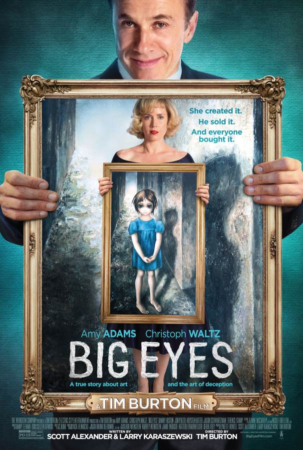 Big Eyes Movie Review English