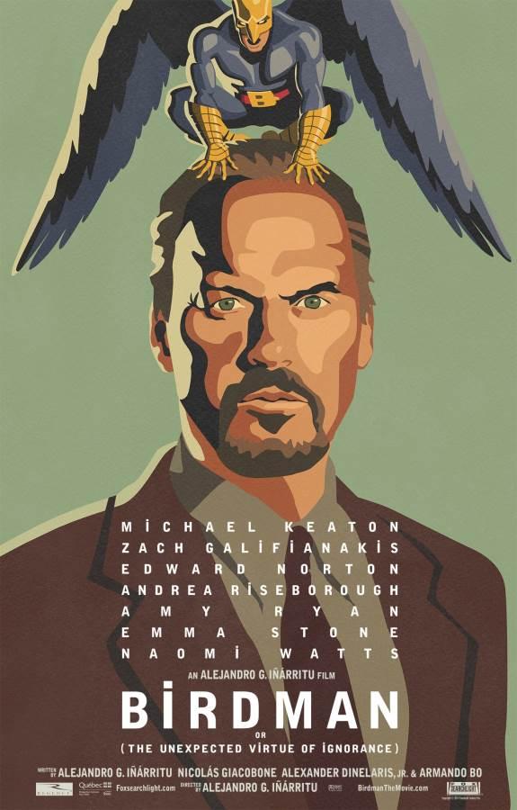 Birdman Movie Review English
