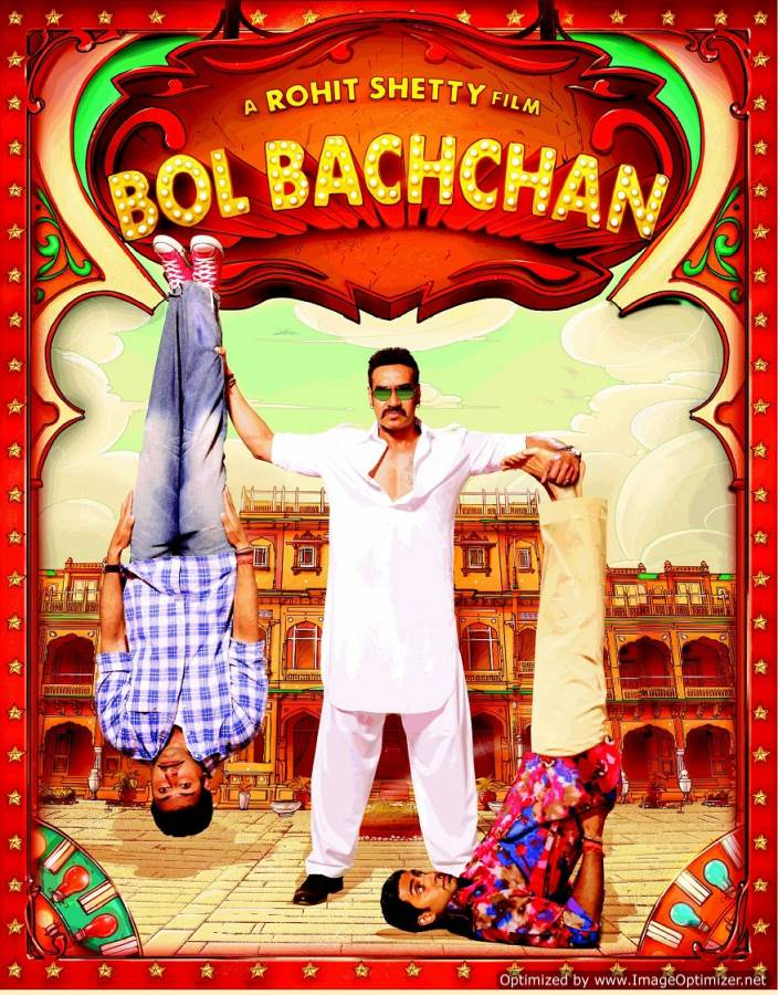 Bol Bachchan Movie Review Hindi