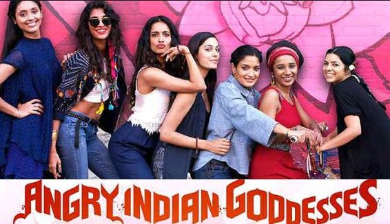 Bollywood Heads Promote Angry Indian Goddesses!
