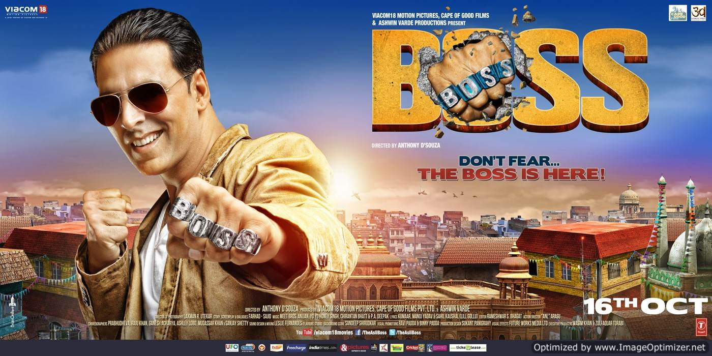 Boss-is always right in the end! Movie Review Hindi