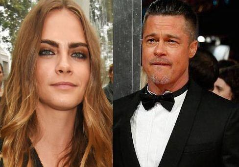 Brad Pitt Prefers Cara Delevingne!