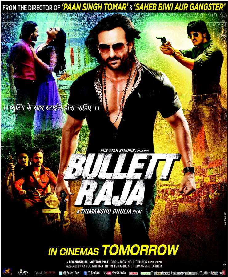 Bullett Raja-War Games in the UP hinterland! Movie Review Hindi