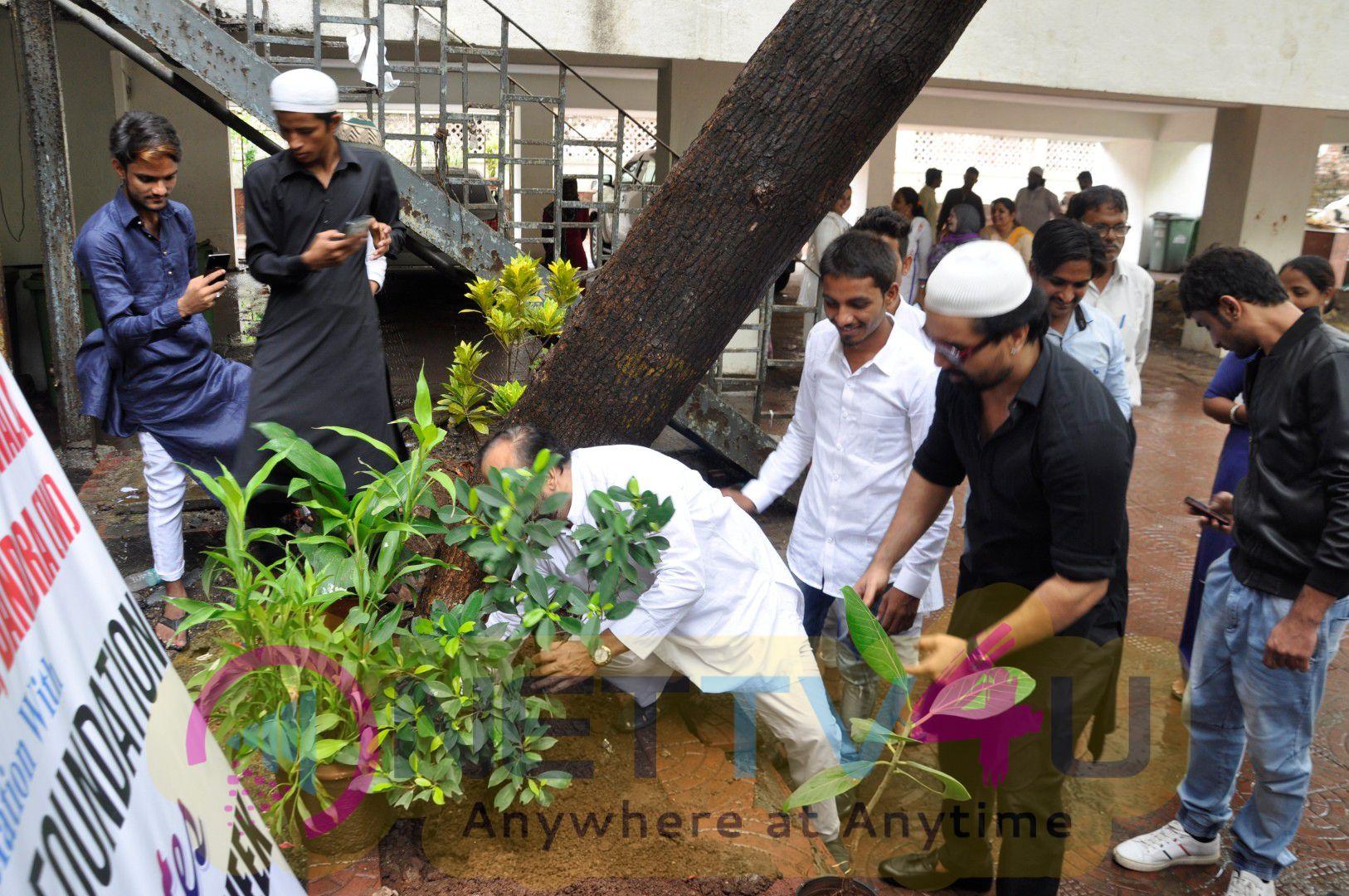 Celebrate Van Mahotsav Week Tree Plantation Drive With Ajaz Khan & Asif Bhamla Photos Hindi Gallery