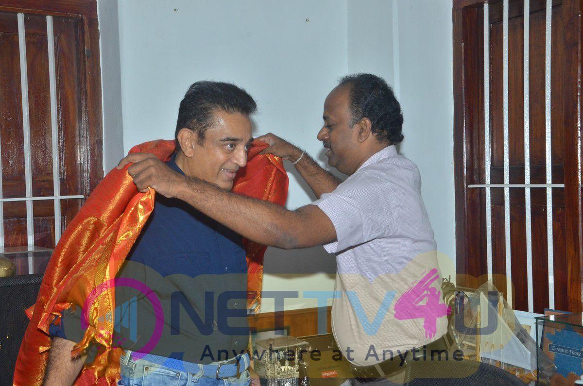 Chevalier Kamalhaasan Wishes For Thenandal Films's Mera Woh Matlab Nahi Tha Drama Photos