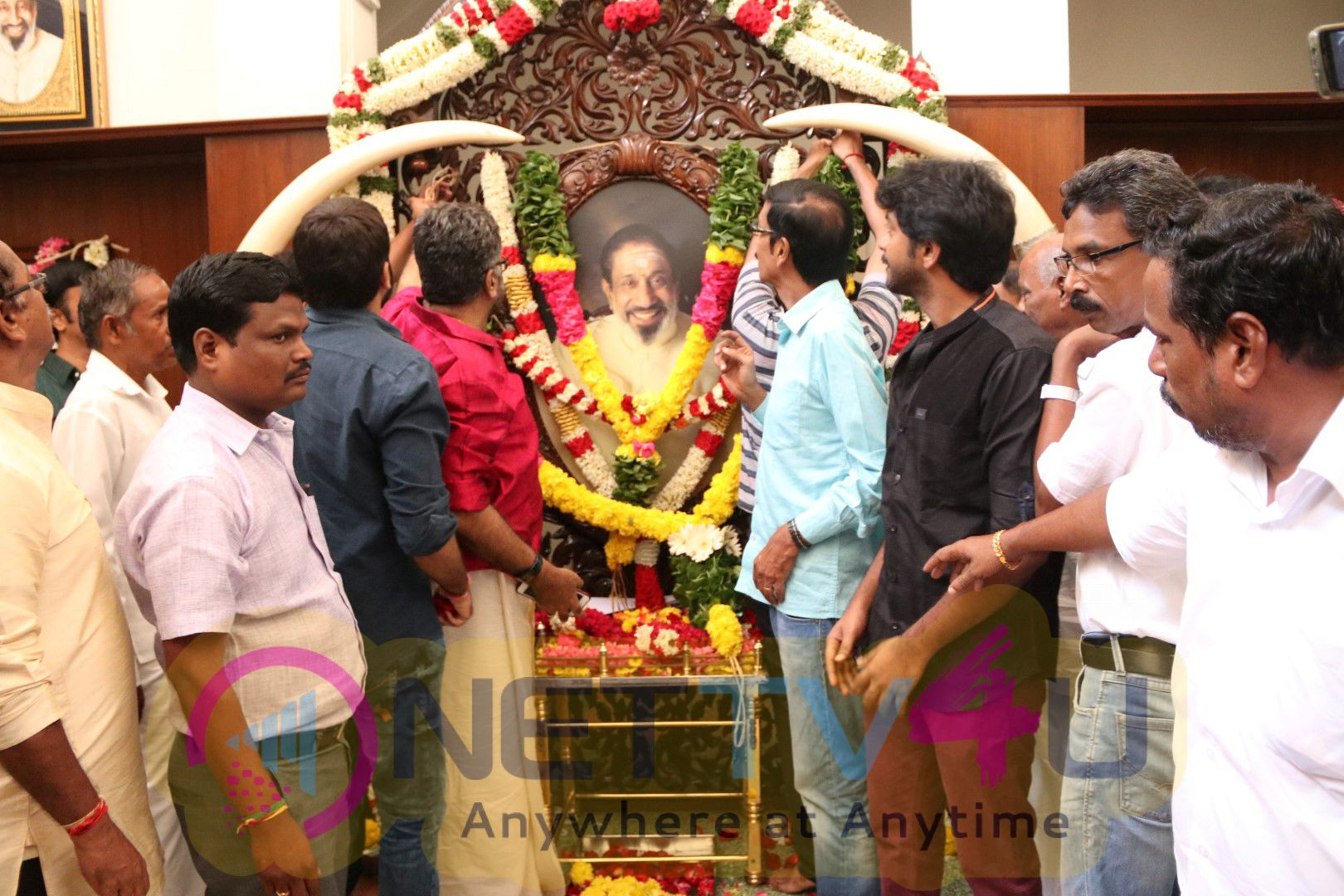 Chevalier Shivaji Ganesan 88th Birthday Stills Tamil Gallery
