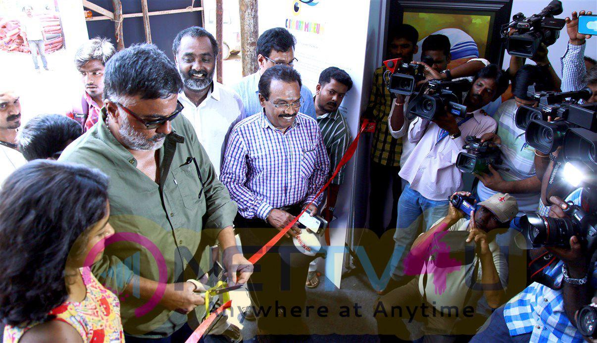 Cinematographer P C Sreeram Launched India's Second Telegraph Museum Photos