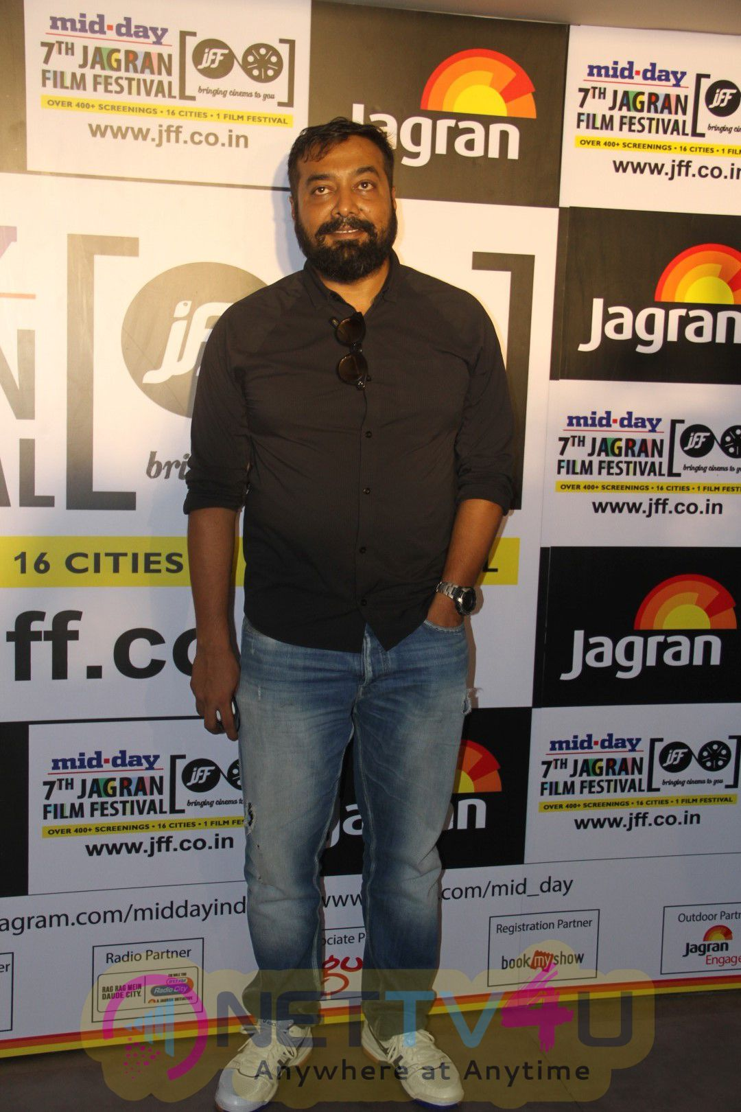 Conversation With Director Anurag Kashyap By Ajay Bramhatmaj Photos