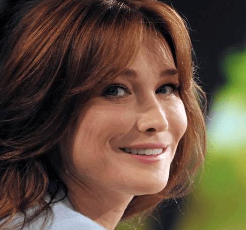 Carla Bruni English Actress
