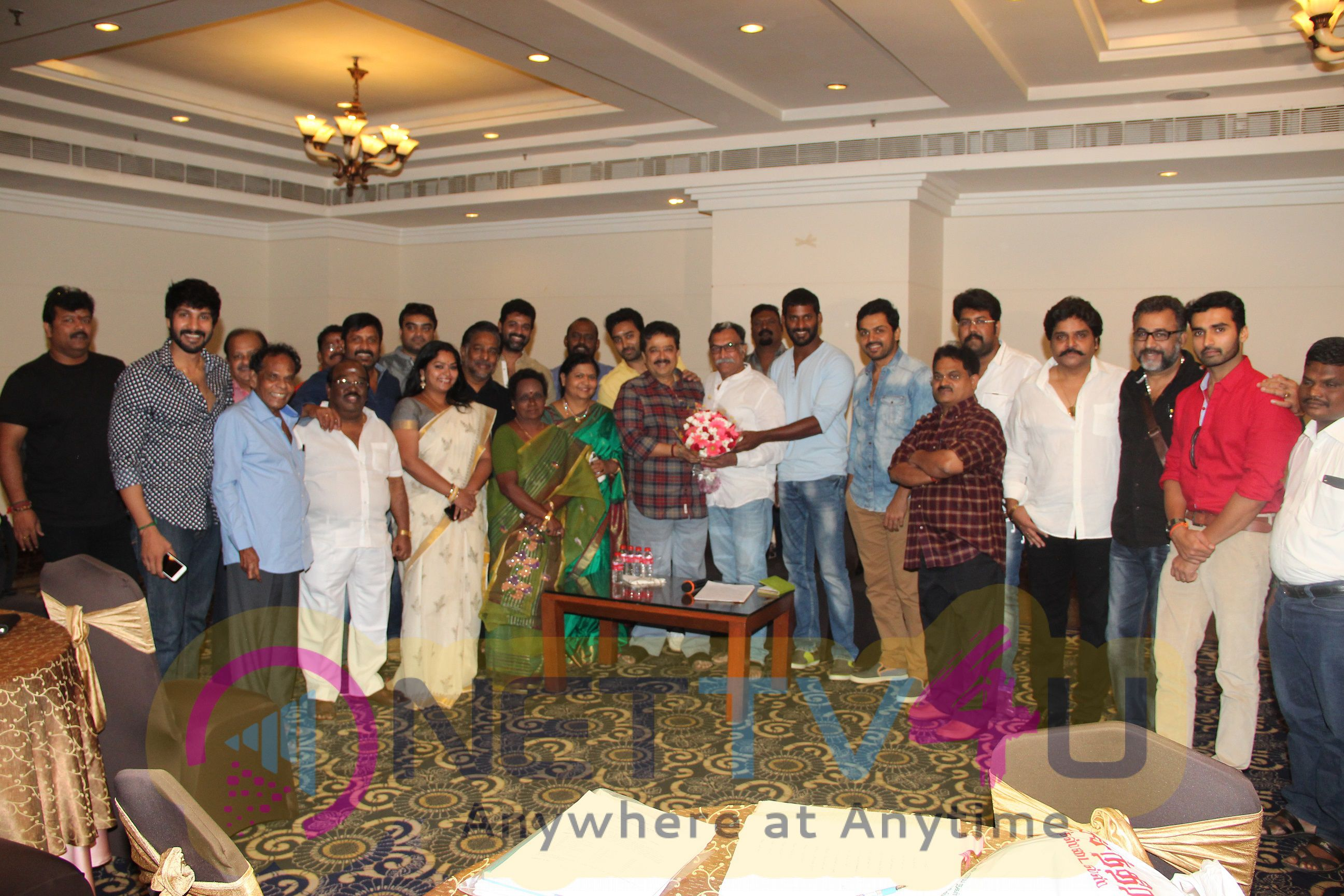 Celebrates The Birthy Day Of Actor S.Ve.Sekhar At Nadigar Sangam Office