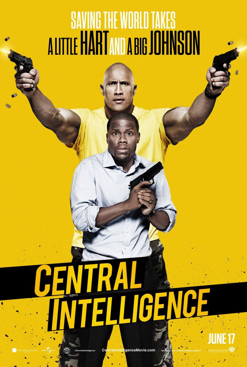 Central Intelligence Movie Review English