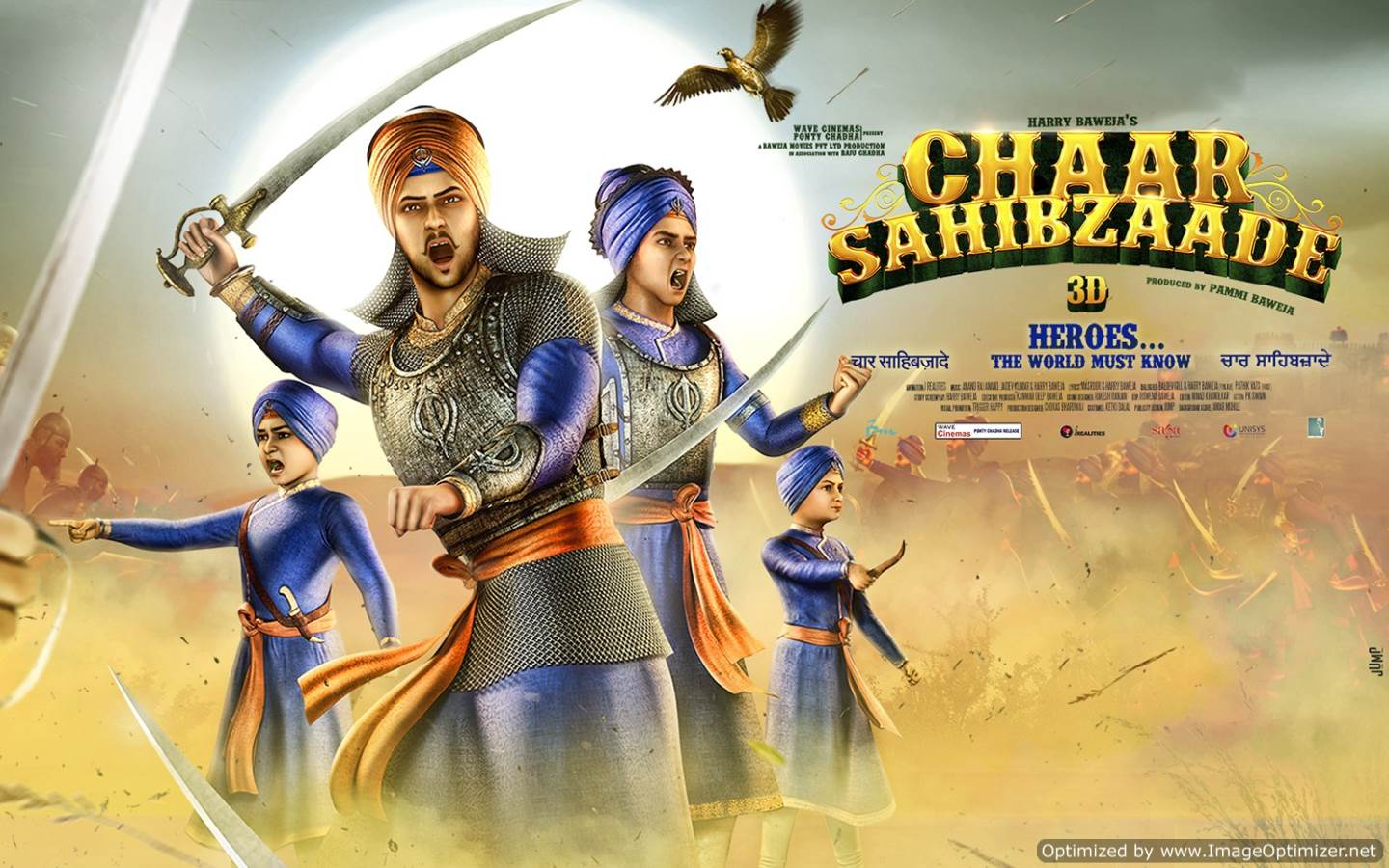 Chaar Sahibzaade Movie Review Hindi