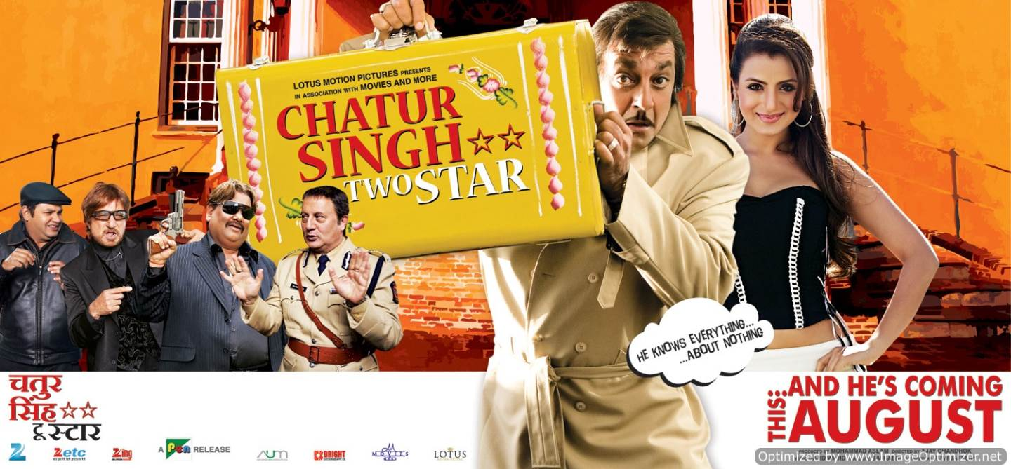 Chatur Singh Two Star Movie Review Hindi