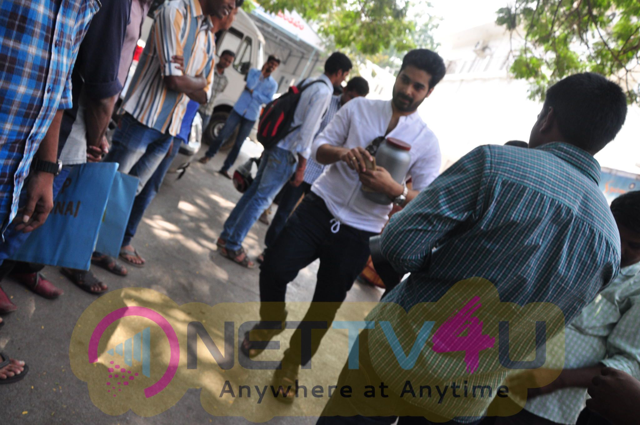 Chethan Cheenu Chennai Floods Support
