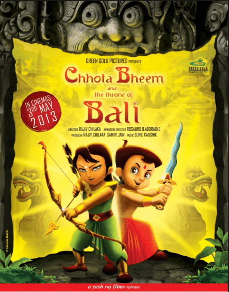 Chhota Bheem And The Throne Of Bali Movie Review Hindi Movie Review