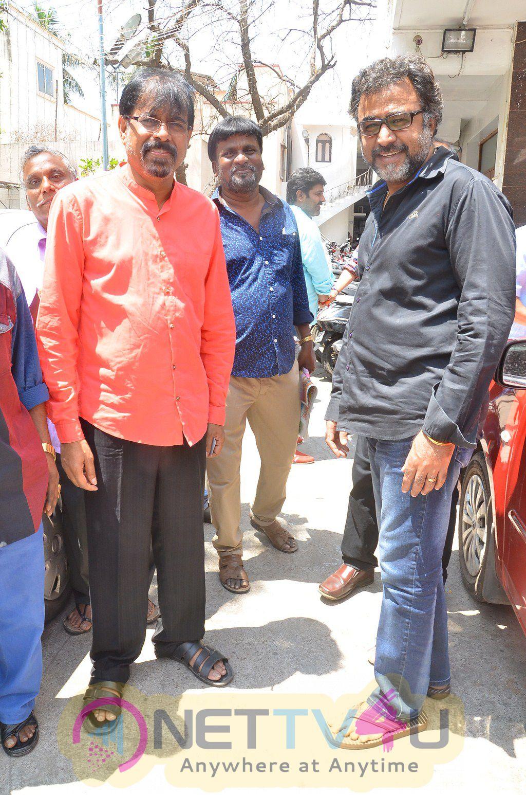 Chinnathirai Nadigar Sangam Swearing Ceremony Photos Tamil Gallery