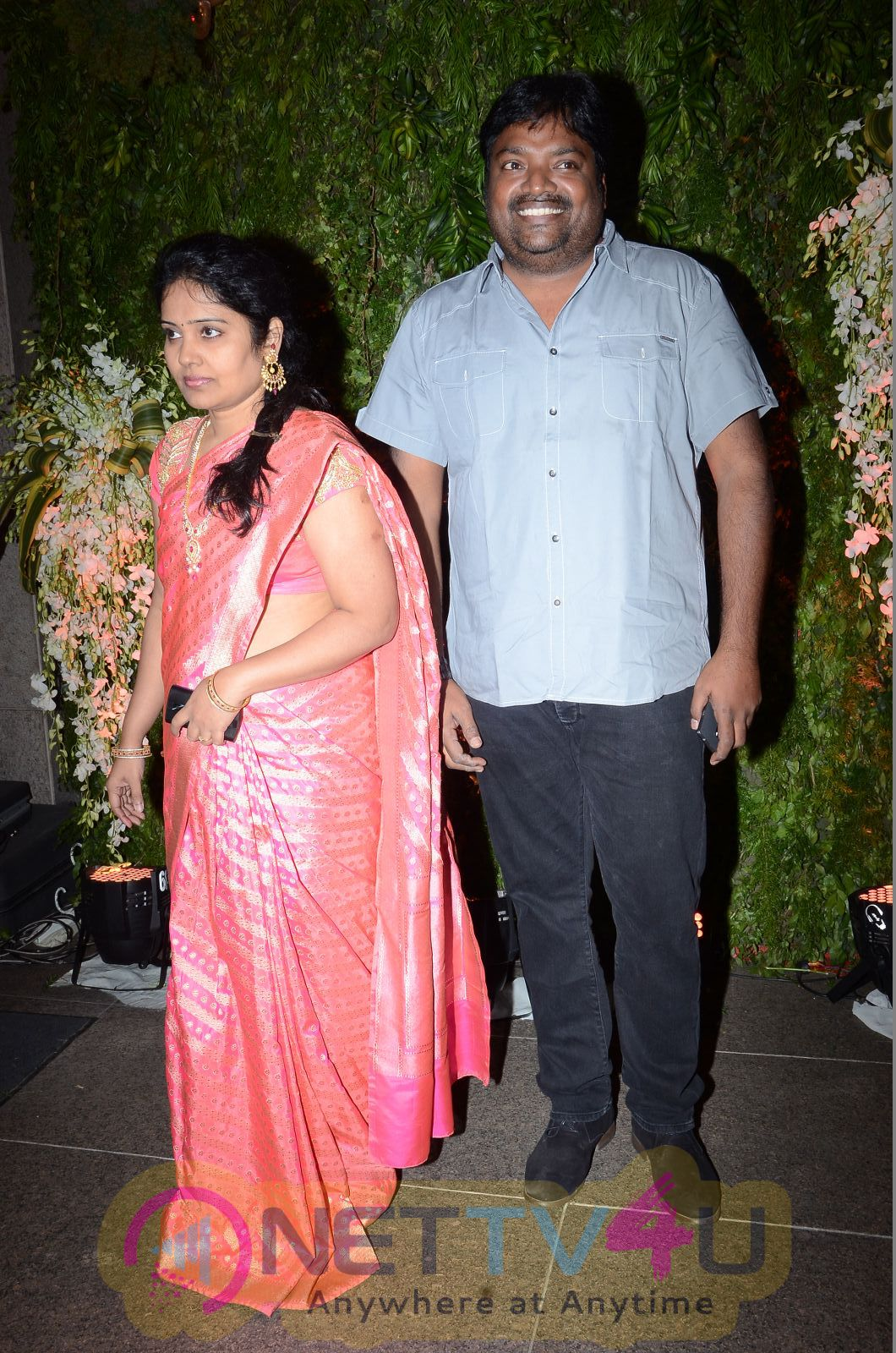 Chiranjeevis Second Daughter Sreeja Marriage Wedding Reception Event Stills