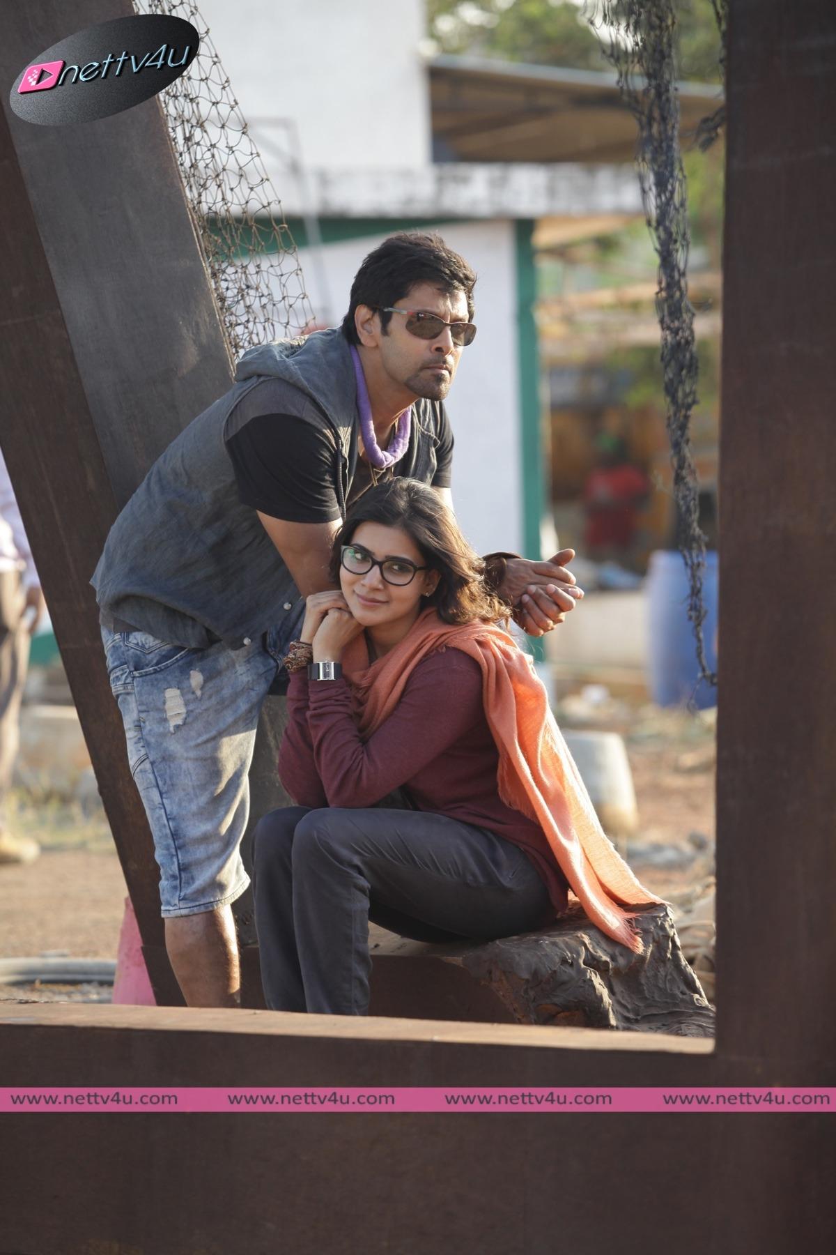 Chiyaan Vikram 10 Enradhukulla Movie Stills First Look