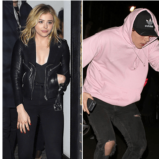 Chloe Moretz And Brooklyn Beckham Seen Together In London