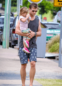 Chris Hemsworth's Daughter Adores 'Thor'