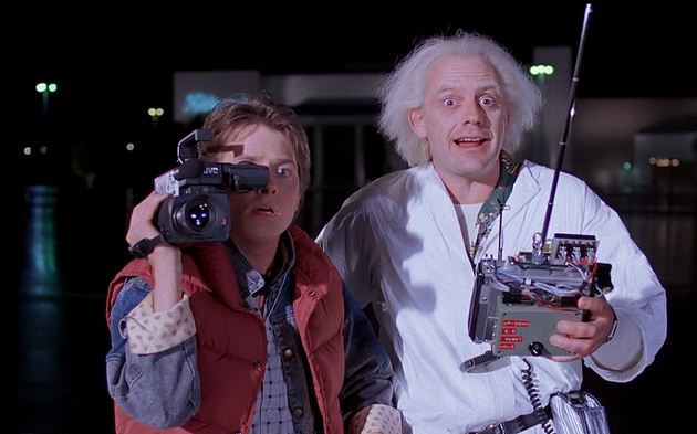 Christopher Lloyd's 'Back To The Future' Teaser..