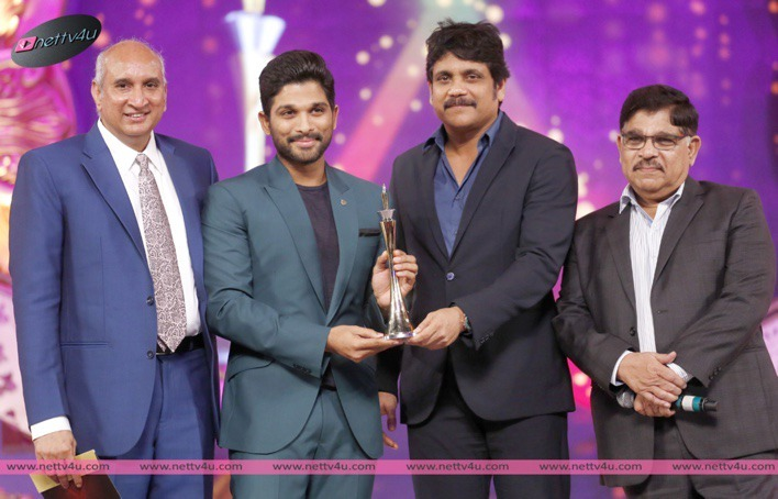 Tollywood Celebrities At Cinema Awards Stills 2015