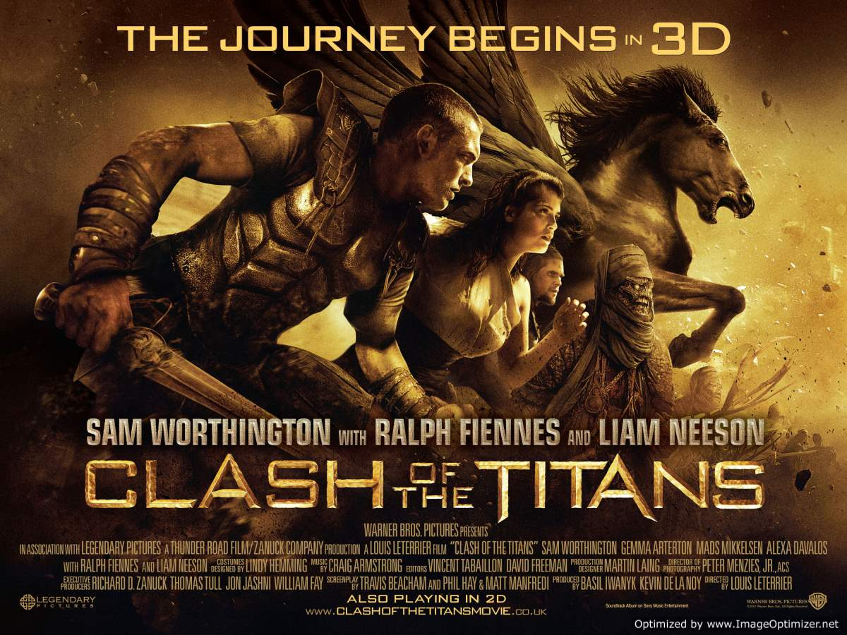 Clash Of The Titans Movie Review English
