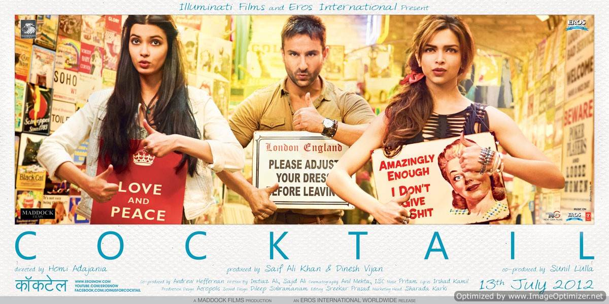 Cocktail Movie Review Hindi