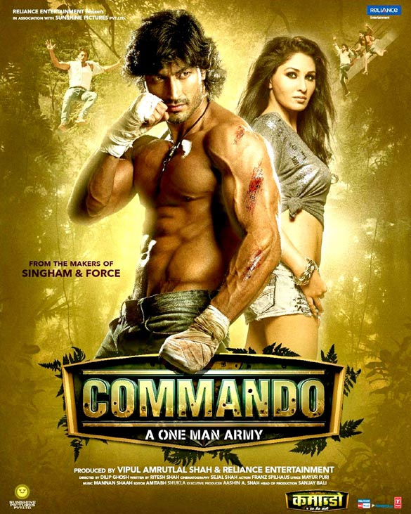 Commando – A One Man Army Movie Review Hindi Movie Review
